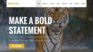 Stout Zoo WordPress Theme